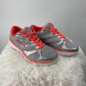 Fila Mentor Running Sneakers Fiery Coral/ Silver